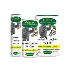 Verm X Herbal Crunchies for Cats - 60g