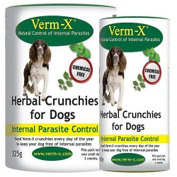 Verm-X Herbal Crunchies for Dogs - 100g