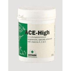 Vet Ark ACE High Multivitamins for Small Animals/Reptiles - 50g