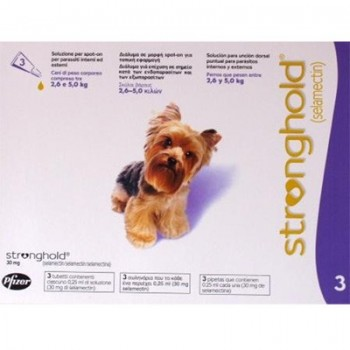 Stronghold - Toy Dog - 30mg x 3 Pipettes