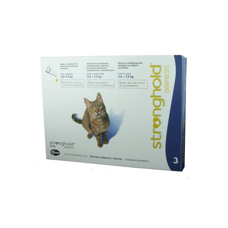Stronghold - Cat - 45mg x 3 Pipettes