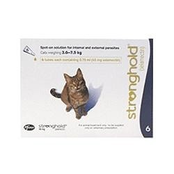 Stronghold - Cat - 45mg x 6 Pipettes