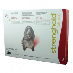 Stronghold - Medium Dog - 120mg x 3 Pipettes