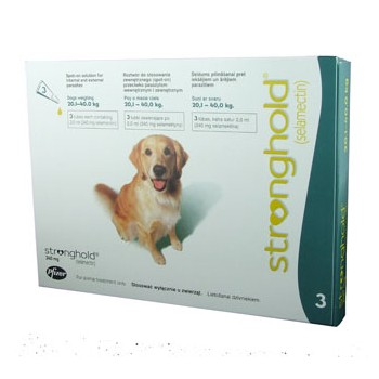Stronghold - Large Dog - 240mg x 3 Pipettes