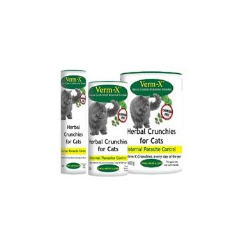 Verm X Herbal Crunchies for Cats - 120g