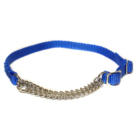 "Canac Combi Dog Collar Blue 1"" (Fits 20""-34"")"