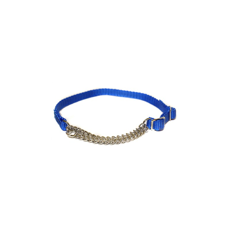 "Canac Combi Dog Collar Blue 3/4"" (Fits 16""-24"")"