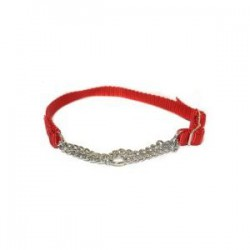 "Canac Combi Dog Collar Red 1"" (Fits 20""-34"")"