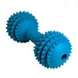 Cyber Dumbbell Rubber Dog Toy - Medium