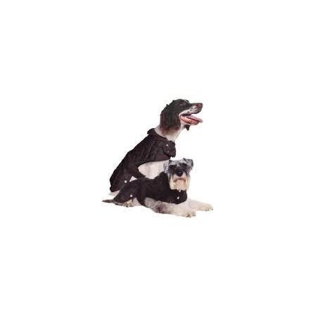 Black Diamond Quilt Dog Jacket - Large