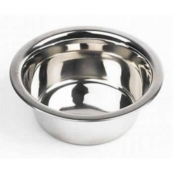 Deluxe Stainless Steel Feeding Bowl - 8""