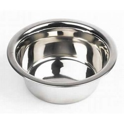 Deluxe Stainless Steel Feeding Bowl - 6.5""
