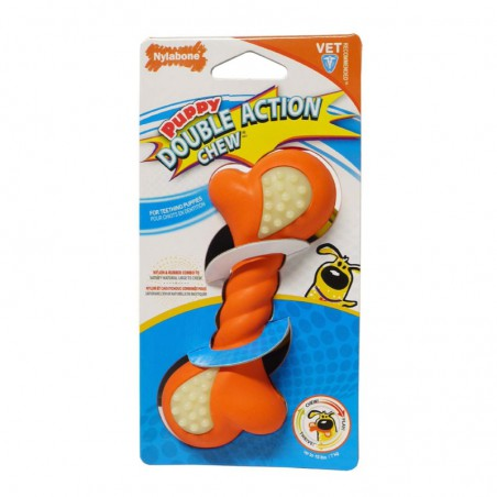Nylabone Puppy Double Action Chew - Medium
