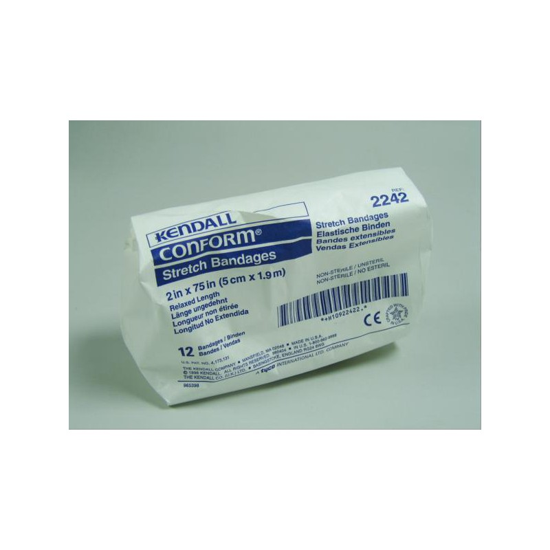 6cm Conforming Stretch Bandage - Pack of 6
