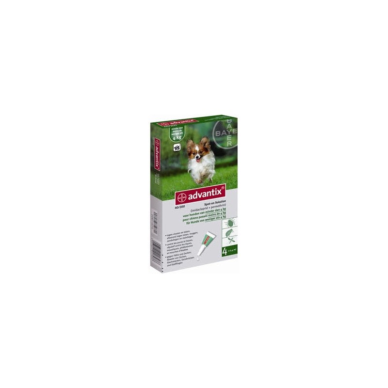 Advantix Flea 40 - Small Dogs less than 4kg