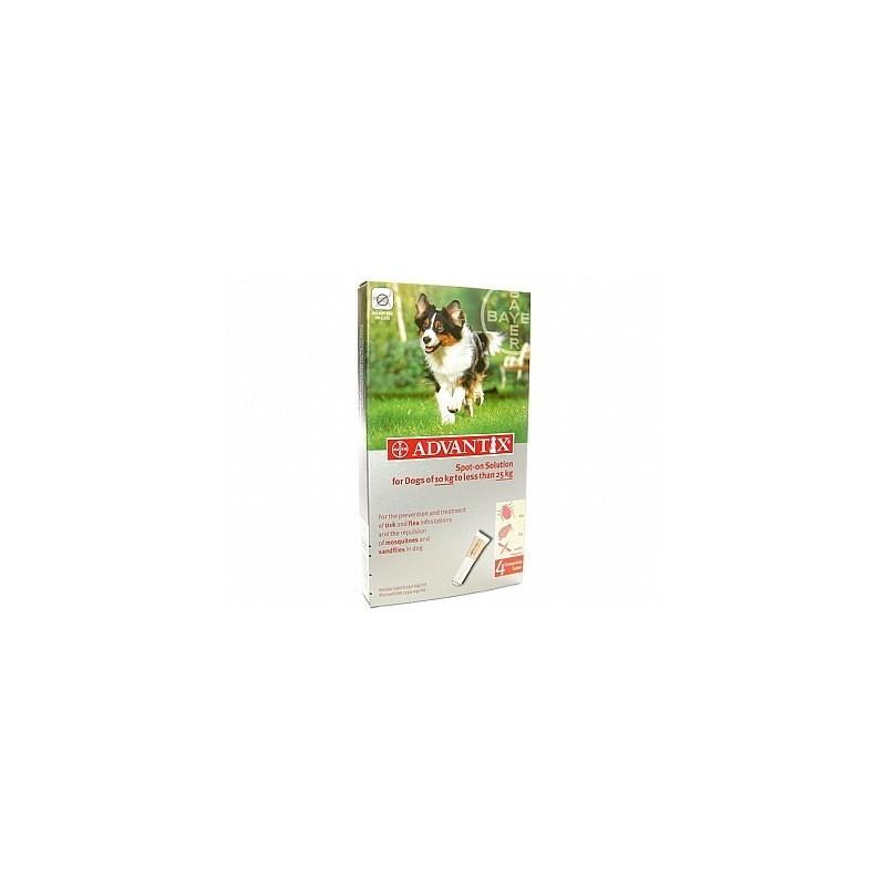 Advantix Flea 250 Large Dog 10 25kg From Vetdispense