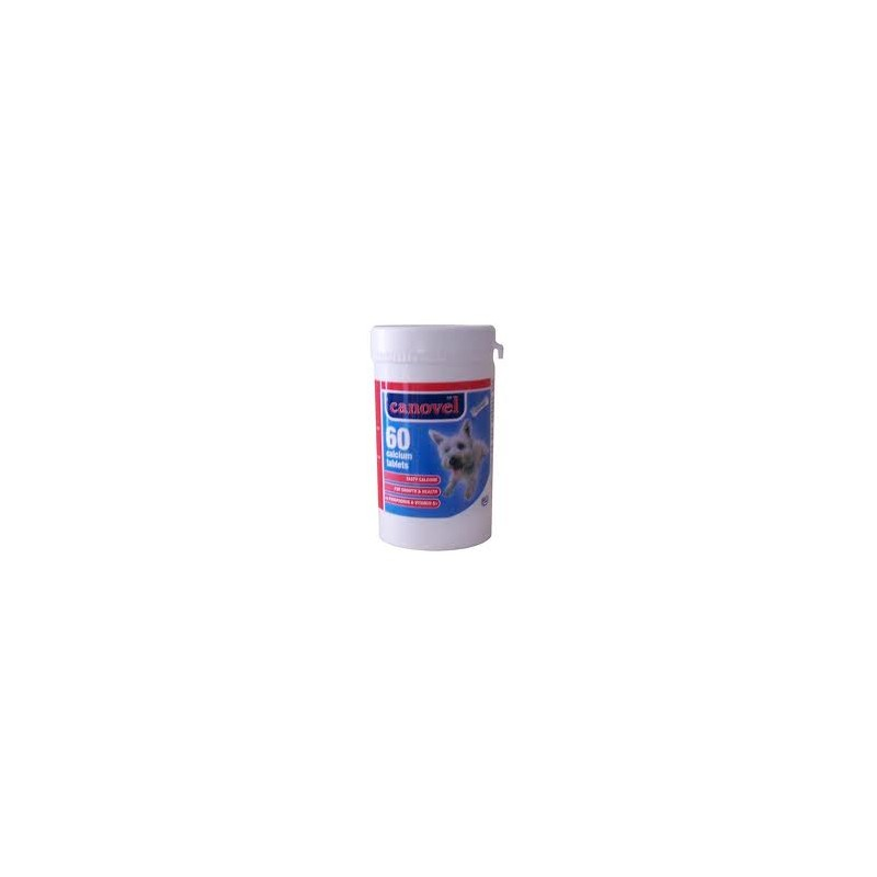 Canovel Calcium Tablets - Pack of 60