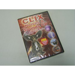 CLIX Noises and Sounds CD for Dog and Puppy Phobias