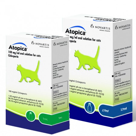 Atopica Solution for Cats & Dogs - 5ml
