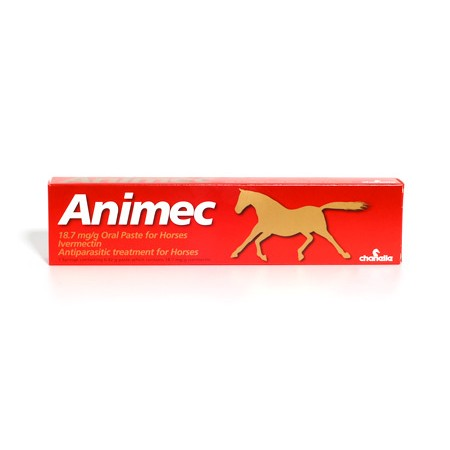 Animec Oral Worming Paste for Horses