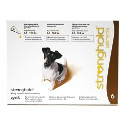 Stronghold - Small Dog - 60mg x 6 Pipettes