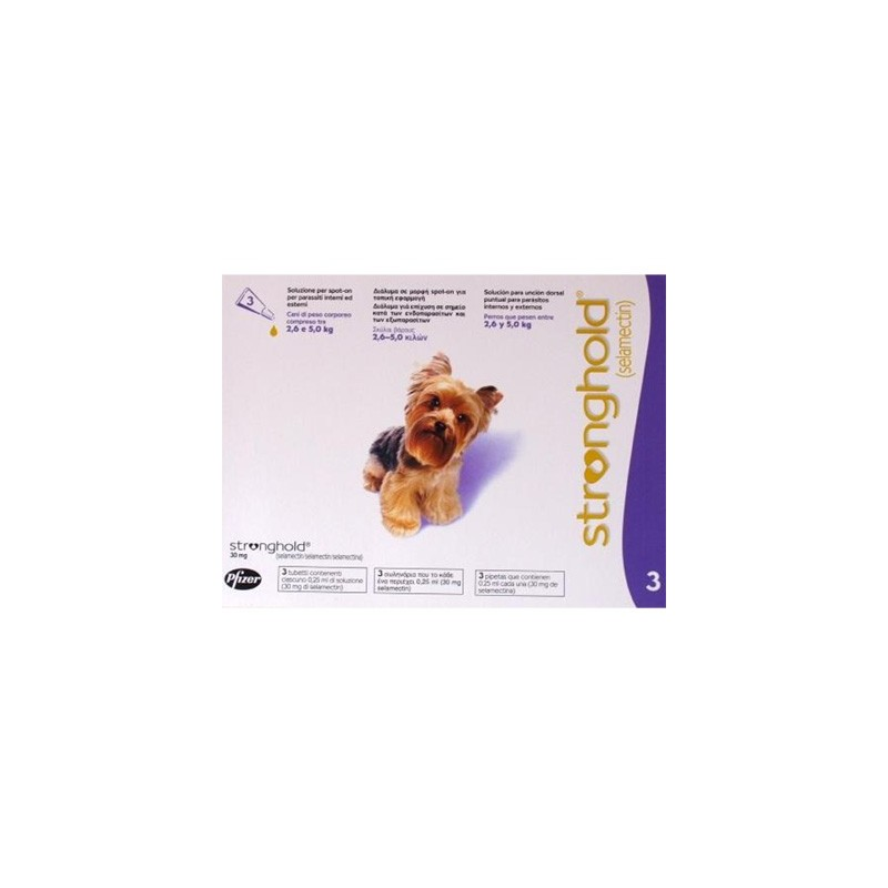 Stronghold - Toy Dog - 30mg x 6 Pipettes