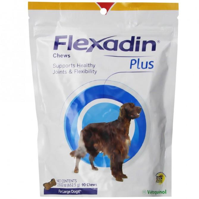 Flexadin Plus Chews for Medium/Large Dogs - Pack of 90