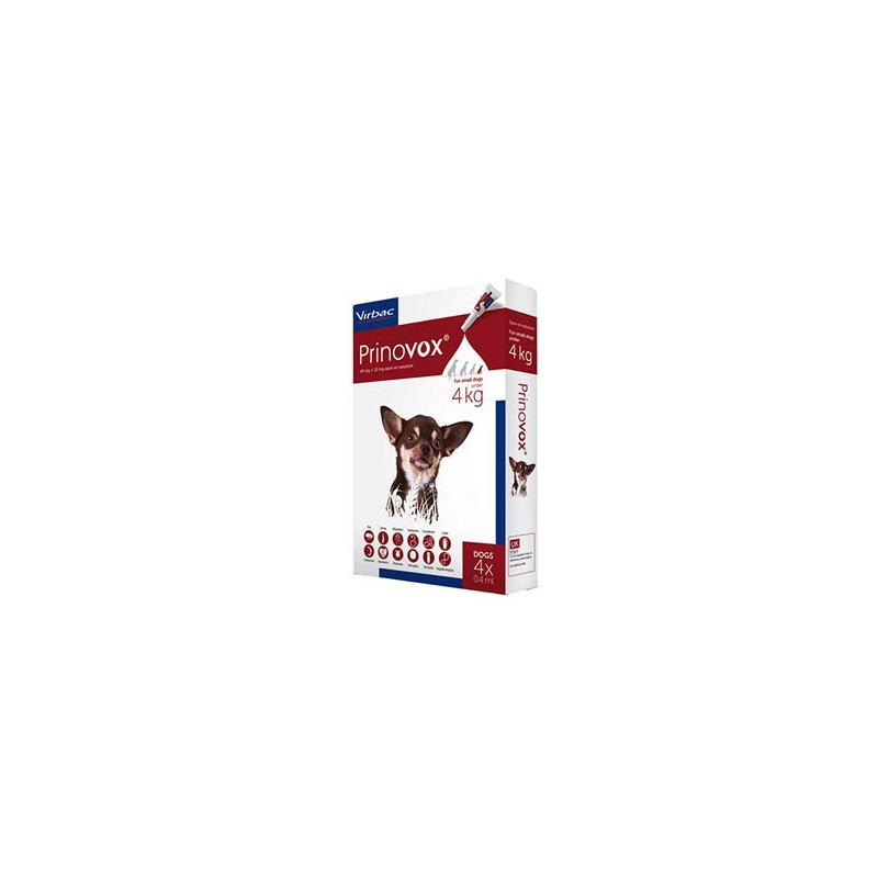 Prinovox for Small Dogs (up to 4kg)