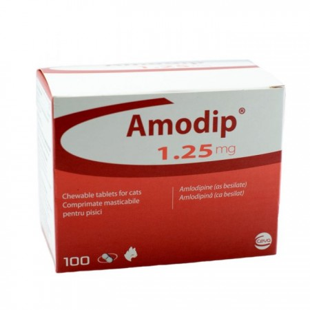 1.25mg Amodip Tablets for Cats - per Tablet