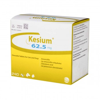 62.5mg Kesium Chewable Tablets for Dogs & Cats - per Tablet
