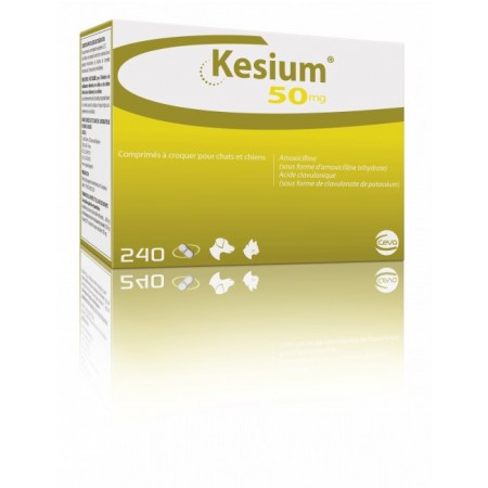 50mg Kesium Chewable Tablets for Dogs & Cats - per Tablet
