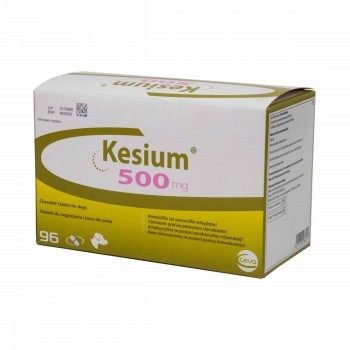 500mg Kesium Chewable Tablets for Dogs - per Tablet