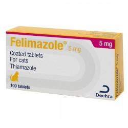 5mg Felimazole Tablet for Cats - per Tablet