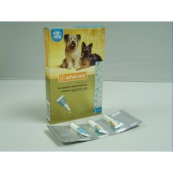 Advocate Spot On 100 Med Dog - 3 Pipettes