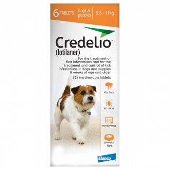 225mg Credelio Tablets for Dogs - Pack of 6