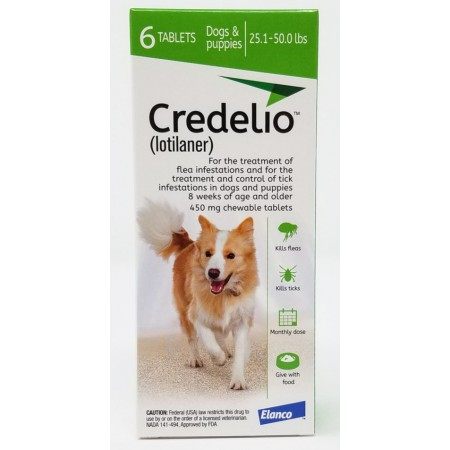 450mg Credelio Tablets for Dogs - Pack of 6