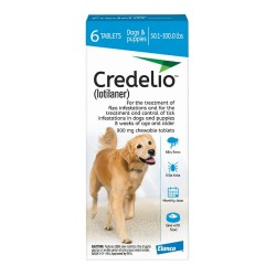 900mg Credelio Tablets for Dogs - Pack of 6