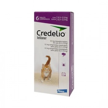 12mg Credelio Tablets for Cats - Pack of 6