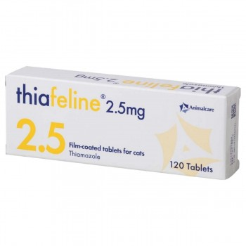 2.5mg Thiafeline Tablet for Cats - per Tablet