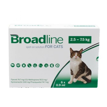 6 x Broadline Spot-on for Large Cats