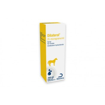 Dilaterol Syrup for Horses - 355ml