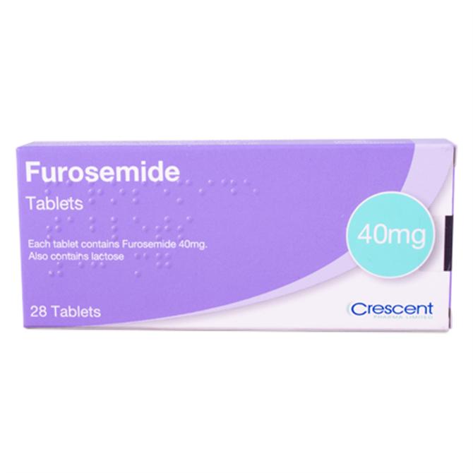40mg Furosemide/Frusemide Tablet - per Tablet