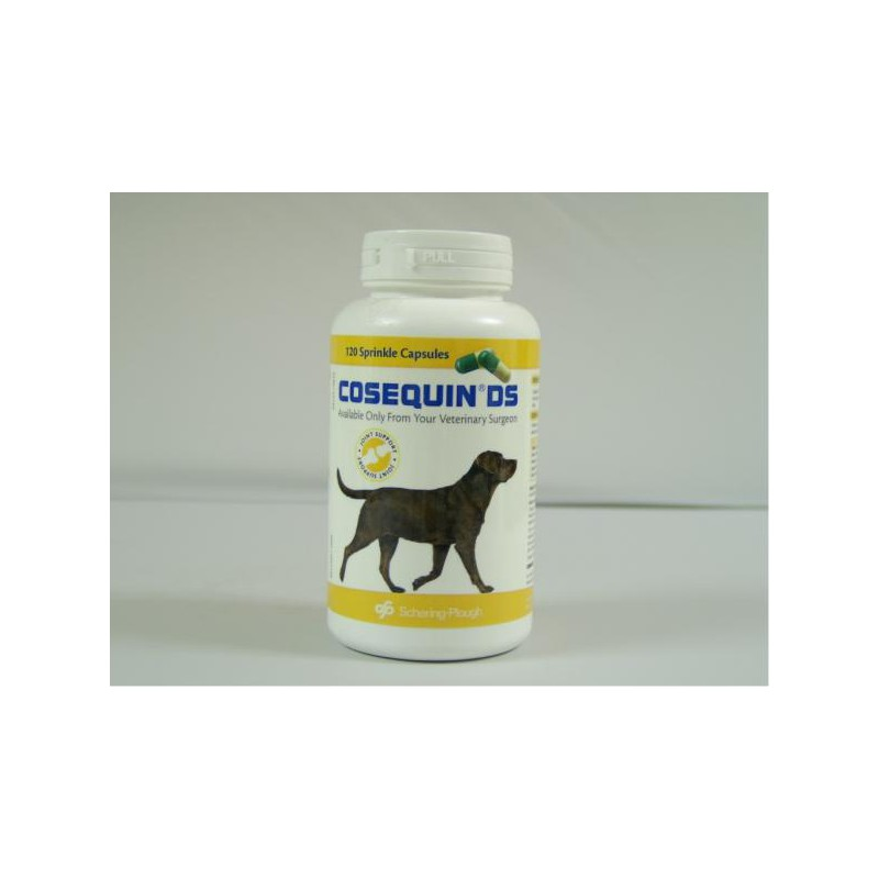 Cosequin for Dogs Double Strength Pot of 120 sprinkle capsules