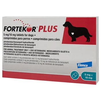 Fortekor Plus 5mg/10mg Tablet for Dogs - Per Tablet
