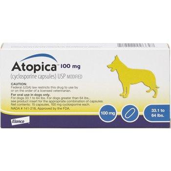 100mg Atopica Capsule - per Capsule