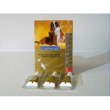 Advocate Spot On 400 X-Large Dog - 3 Pipettes
