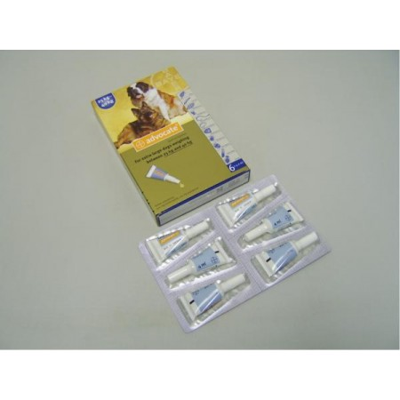 Advocate Spot On 400 X-Large Dog - 6 Pipettes