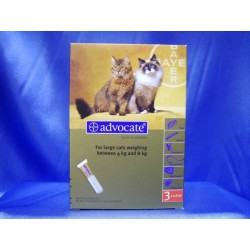 Advocate Spot On 80 Large Cat - 3 Pipettes