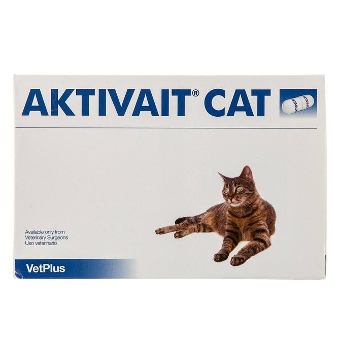 Aktivait Capsules for Cats - Pot of 60