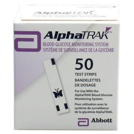 Alphatrak 2 Test Strips - Pack of 50